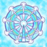 Plaque d'harmonisation : paix 30×30 plexiglas