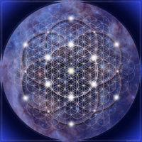 Fleur de vie stellaire –Elle facilite les contacts avec les énergies de l'univers, les guides et facilite les voyages méditatifs.
