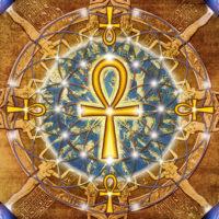Fleur de vie Ankh ou croix ansée est un symbole de la vie, de l'immortalité et du pouvoir chez les égyptiens. Cette plaque renforce les énergies vitales, les contacts avec sa part Divine et renforce le positionnement.